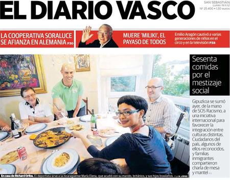 Portada Diario Vasco Rec